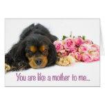 El día de madre feliz tiene gusto de una tarjeta d