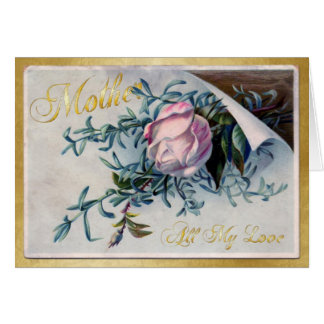El día de madre feliz - todo mi amor - 1 tarjeta de felicitación