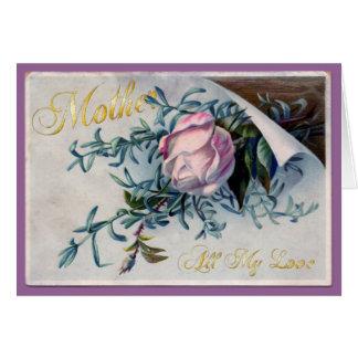 El día de madre feliz - todo mi amor - 3 tarjeta de felicitación