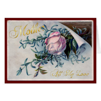 El día de madre feliz - todo mi amor - 4 tarjeta de felicitación