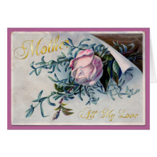 El día de madre feliz - todo mi amor - 5 tarjeta de felicitación