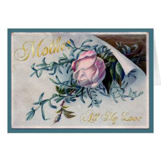El día de madre feliz - todo mi amor - 6 tarjeta de felicitación