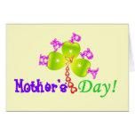 el día de madre ♫☆♥Happy Card☆♥♪ de saludo Felicitaciones