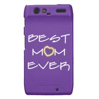 El día de madre - la mejor mamá nunca droid RAZR carcasa
