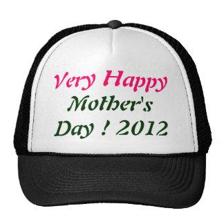El día de madre muy feliz 2012 gorro