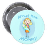 El día de madre/nueva mamá pins