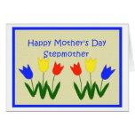 El día de madre para la madrastra tarjeta