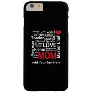 El día de madre polivalente asombroso de la mamá funda para iPhone 6 plus barely there