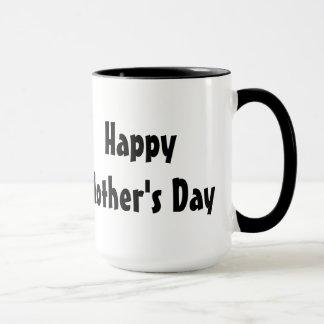 El día de madre presente de un gato gruñón taza