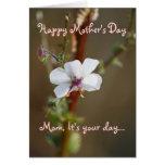 El día de madre, sentimental felicitacion