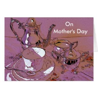 El día de madre felicitación