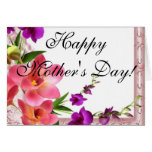 El día de madre tarjeta