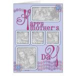 El día de madres AÑADE SU rosa de la cadena de mar Tarjeta