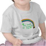 El día de mi primer St Patrick Camiseta
