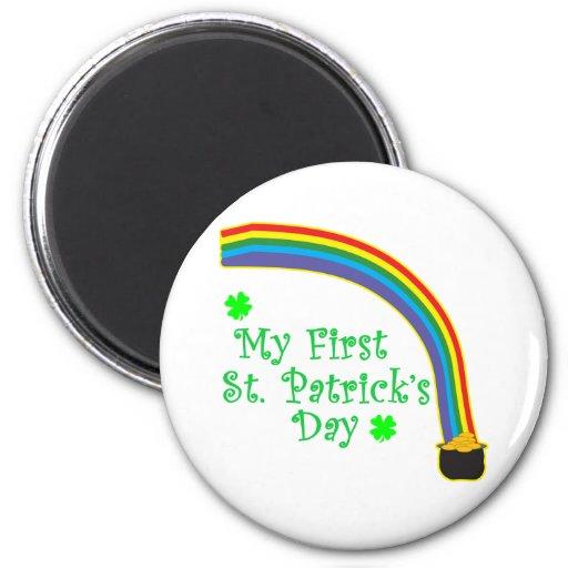El día de mi primer St Patrick Imanes