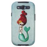 El Dia de Muertos Mermaid Galaxy SIII Cárcasa