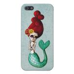 El Dia de Muertos Mermaid iPhone 5 Cobertura