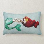 El Dia de Muertos Mermaid Pillow