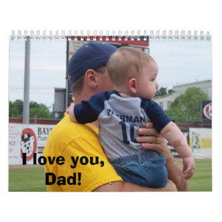 El día de padre a Michael Calendario