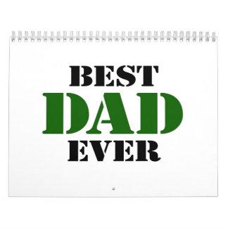 El día de padre calendario