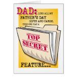 """El día de padre """"característica"""" (precio especial! tarjetas"""