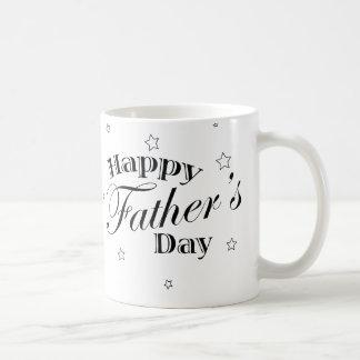 El día de padre clásico taza