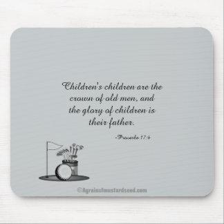 El día de padre de los niños de los niños tapetes de ratón