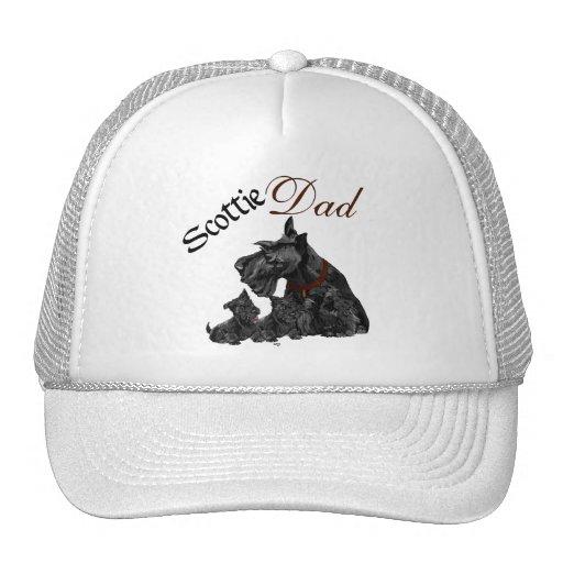 El día de padre de Terrier del escocés Gorras