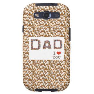 El día de padre del PAPÁ: BASE elegante LOWPRICES  Galaxy S3 Fundas
