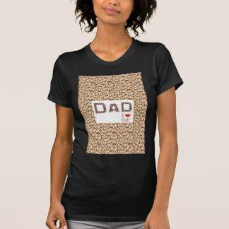 El día de padre del PAPÁ BASE elegante LOWPRICES Camisetas