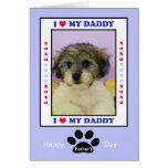 El día de padre del perro -- Su foto Tarjeta