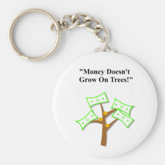 """El día de padre """"dinero no crece en árboles """" llavero redondo tipo pin"""