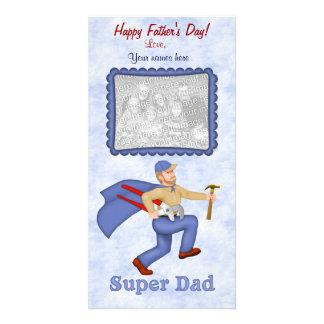 El día de padre estupendo del papá tarjeta personal