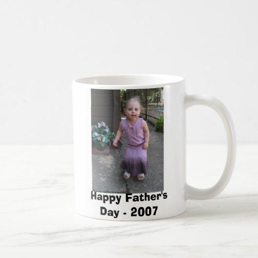 El día de padre feliz - 2007 taza de café