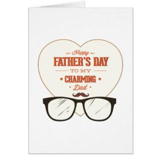 El día de padre feliz a mi papá maravilloso y enca felicitacion