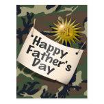 El día de padre feliz alguien especial postal