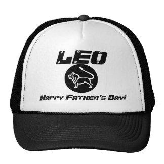 ¡El día de padre feliz de LEO! - Personalizar Gorros
