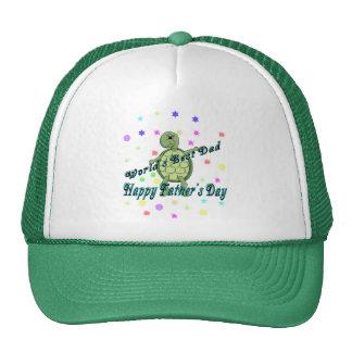 El día de padre feliz del mejor papá del mundo gorra