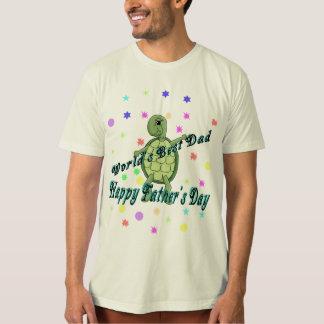 El día de padre feliz del mejor papá del mundo playera
