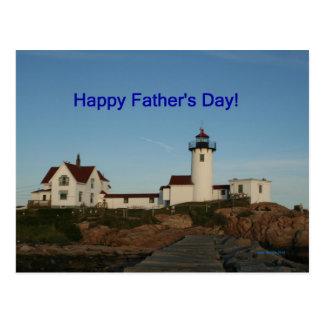 El día de padre feliz, faro postales