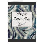 El día de padre feliz felicitacion