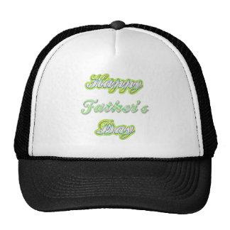 El día de padre feliz gorros bordados