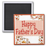 El día de padre feliz imán de nevera
