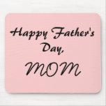 El día de padre feliz, MAMÁ Tapetes De Raton
