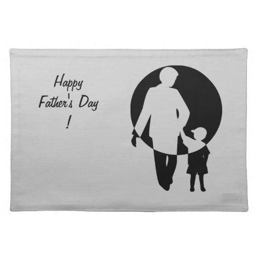 ¡El día de padre feliz! - Manteles