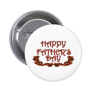 El día de padre feliz pin