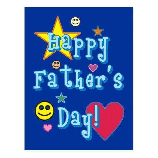 ¡El día de padre feliz! - Postales