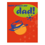 El día de padre feliz postales