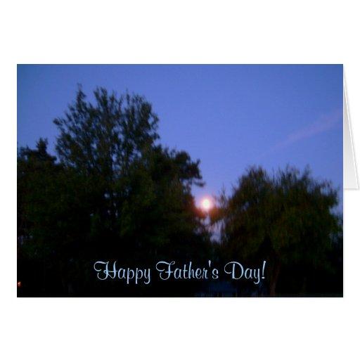 ¡El día de padre feliz! - Tarjeta