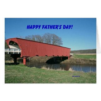 ¡El día de padre feliz! Tarjeta De Felicitación